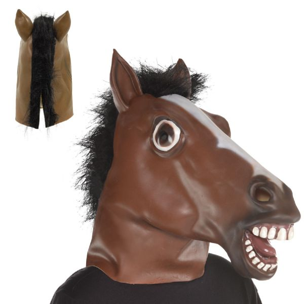 Horse Full Head Mask